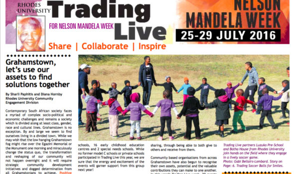 Rhodes Mandela Day 2016 2